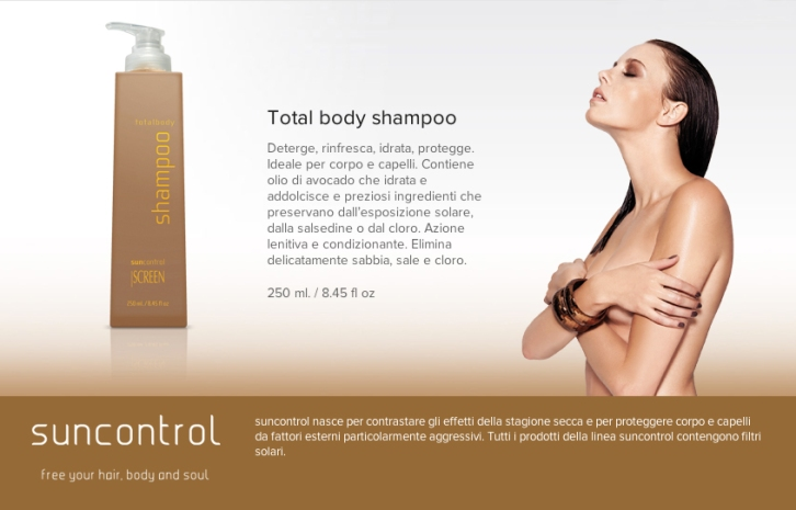 total body shampoo